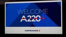 Neu bei Air France: die A-220.