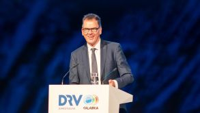 German development minister Gerd Müller held a keynote speech at the DRV conference in Calabria