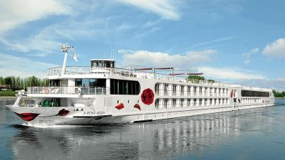 Arosa has the strongest brand and profile among German river cruises operators.