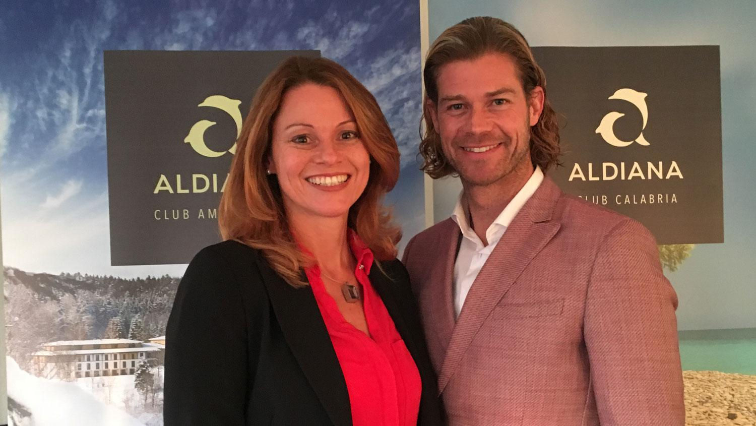 Stefanie Brandes and Patrick Brändle want to make Aldiana shine again.