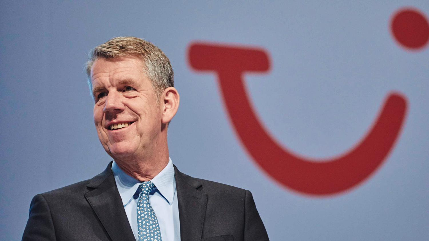 All smiles as Fritz Joussen confirms the profit forecast and eyes international growth