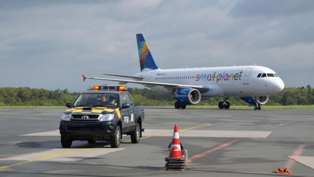 Small Planet flies from regional airports such as Paderborn.