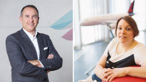 Oliver Wagner and Christina Förster will have new responsibilities at Eurowings.