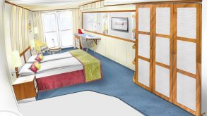 The new cabin look for A-ROSA Donna and other vessels