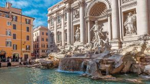 Thomas Cook has expanded its hotel portfolio for city destinations such as Rome (pictured, the Trevi Fountain) through its partnership with Expedia.