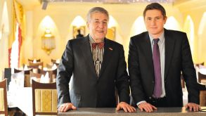Kadir (left) and Deniz Ugur will retain majority ownership of Bentour Reisen.