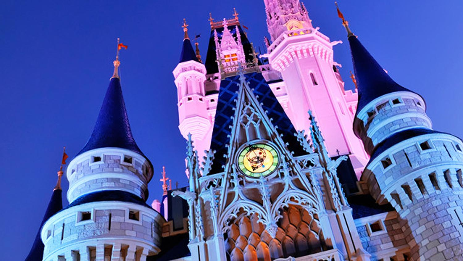 Magic Kingdom ist ein Vergnügungspark im Walt Disney World Resort in Florida.