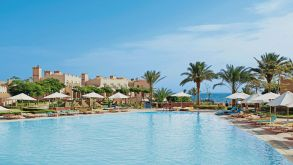 The Club Calimera Akassia Swiss Resort in Egypt is one of about 90 DER Touristik Hotels & Resorts properties.