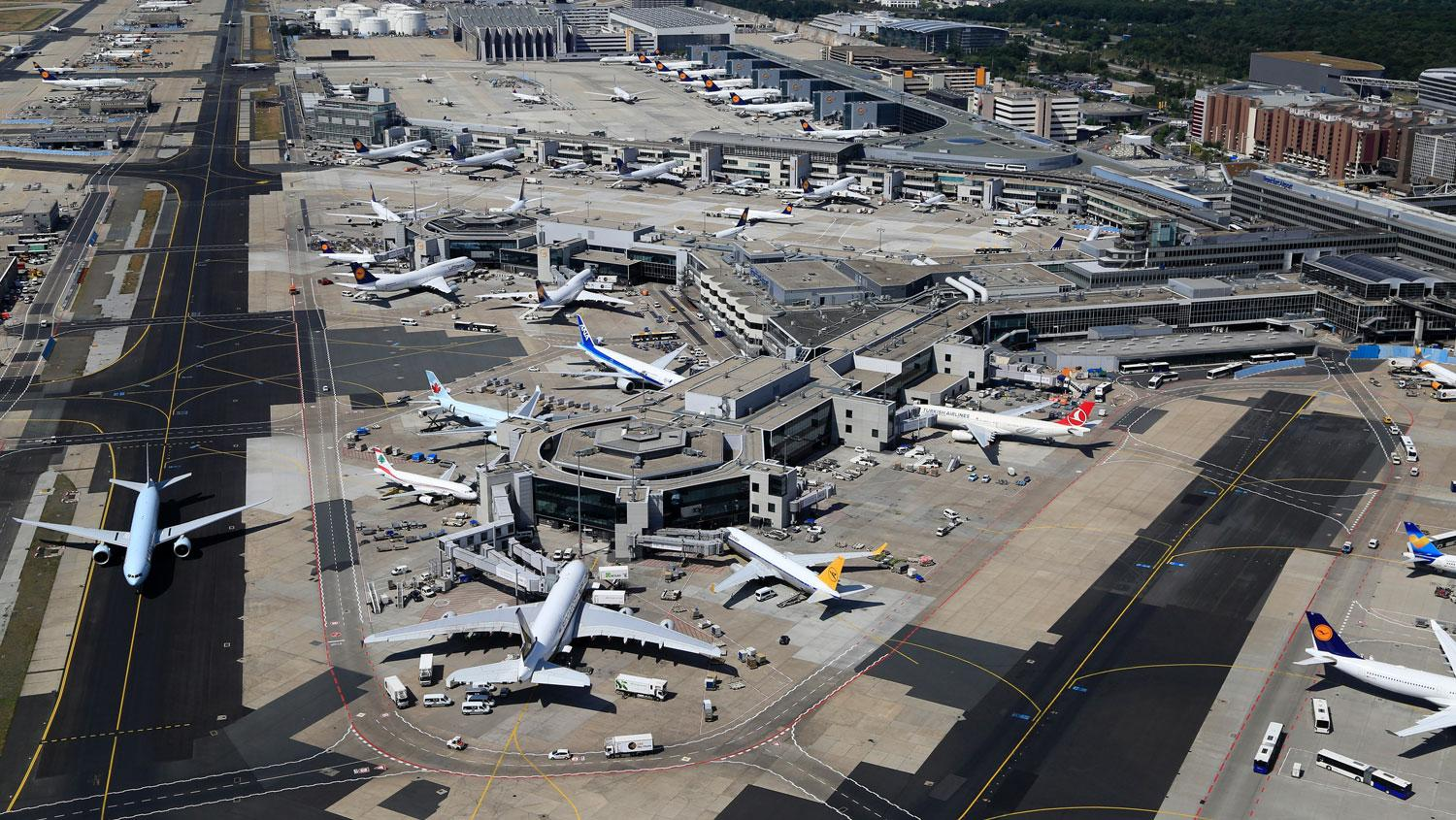 Frankfurt Airport is Lufthansa's main hub but recently signed a deal with low-cost carrier Ryanair.