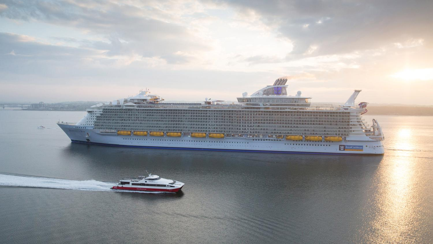 Flaggschiff von Royal Caribbean: Die Harmony of the Seas.