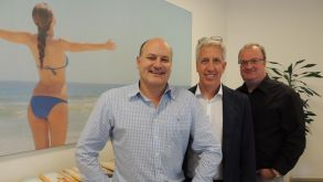 Schauinsland-Reisen's management trio (from left): Andreas Rüttgers, Gerald Kassner and sales chief Detlef Schroer