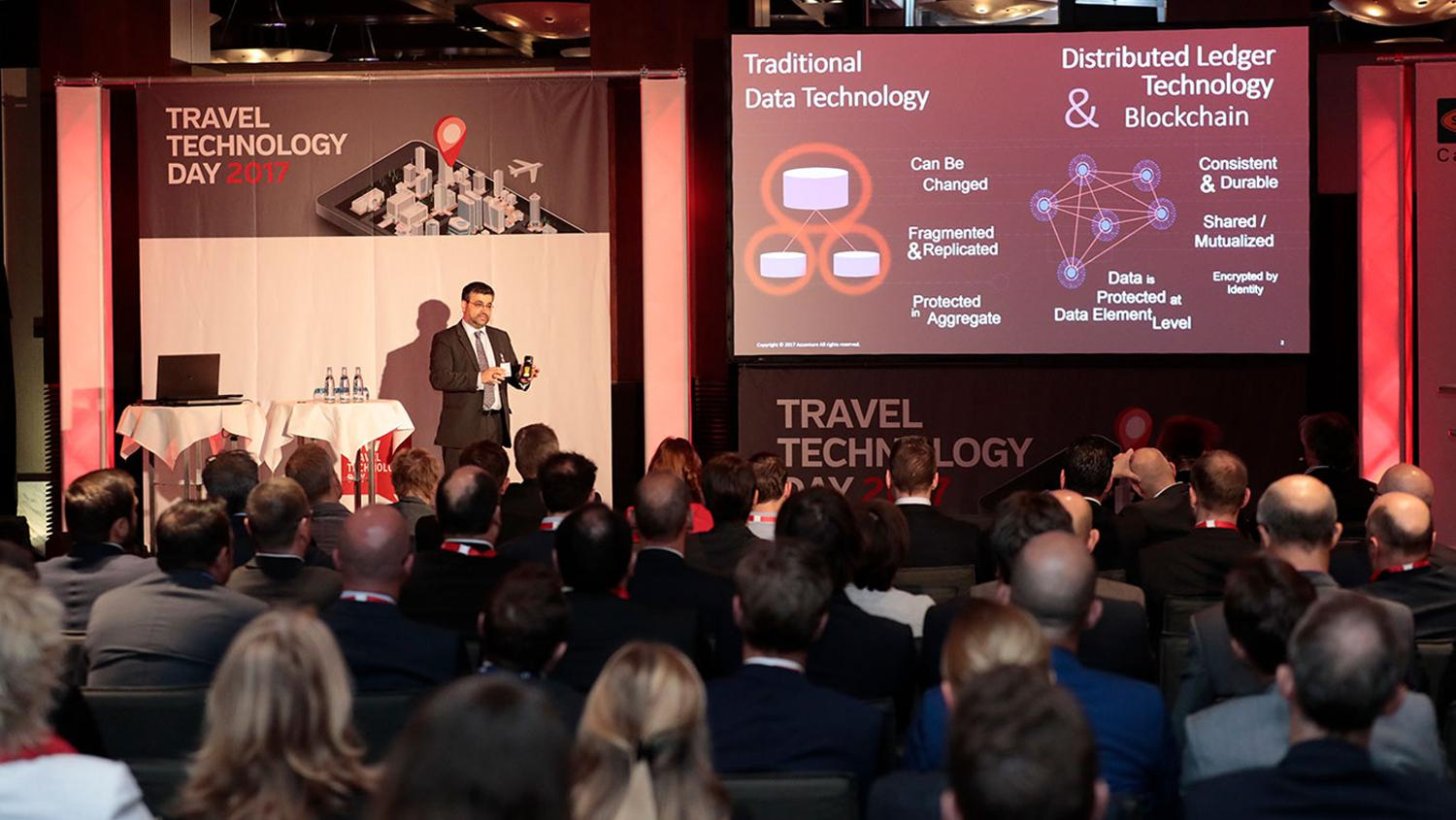 John Velissarios hielt die Keynote beim fvw Travel Technology Day.
