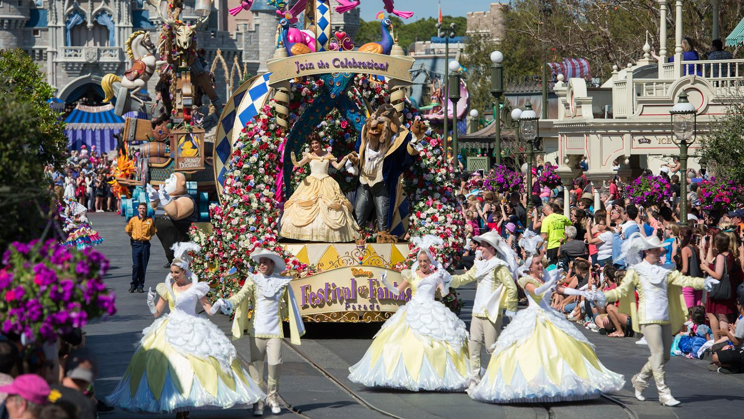 Allein 20,5 Mio. Gäste besuchten 2015 Disneys Magic Kingdom in Orlando.