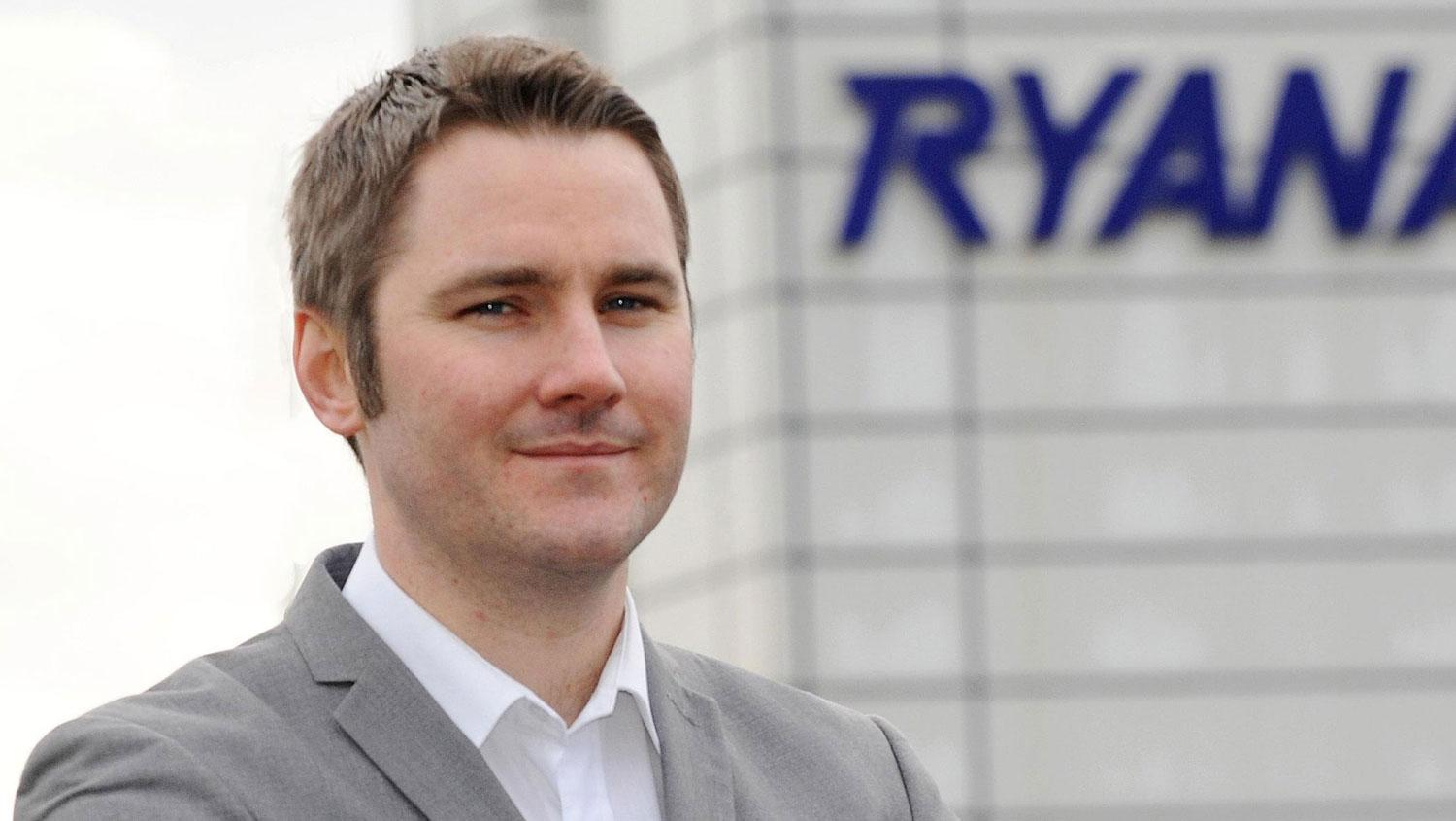 Robin Kiely, Head of Communications bei Ryanair