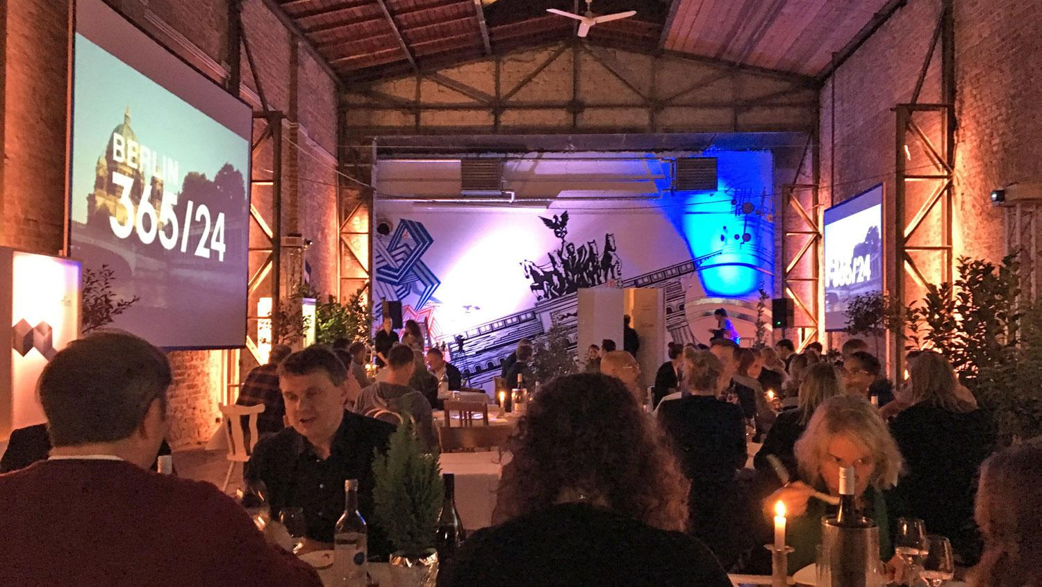 So sah das Pop-up-Restaurant in Köln-Ehrenfeld aus.
