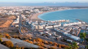 Bookings for Agadir in Morocco are soaring.