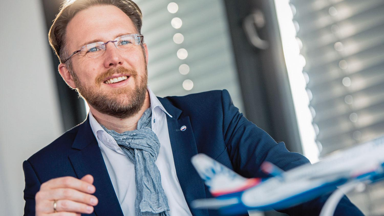 Peter Glade ist Chief Commercial Officer von Sun Express.
