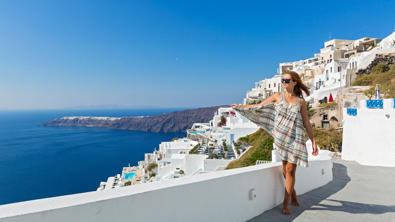 Strong German bookings for Greece (here Santorini)