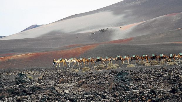 Lanzarote, with its volcanic attractions, is a hot destination for Germans this year