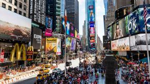 New York remains a top draw for German tourists.