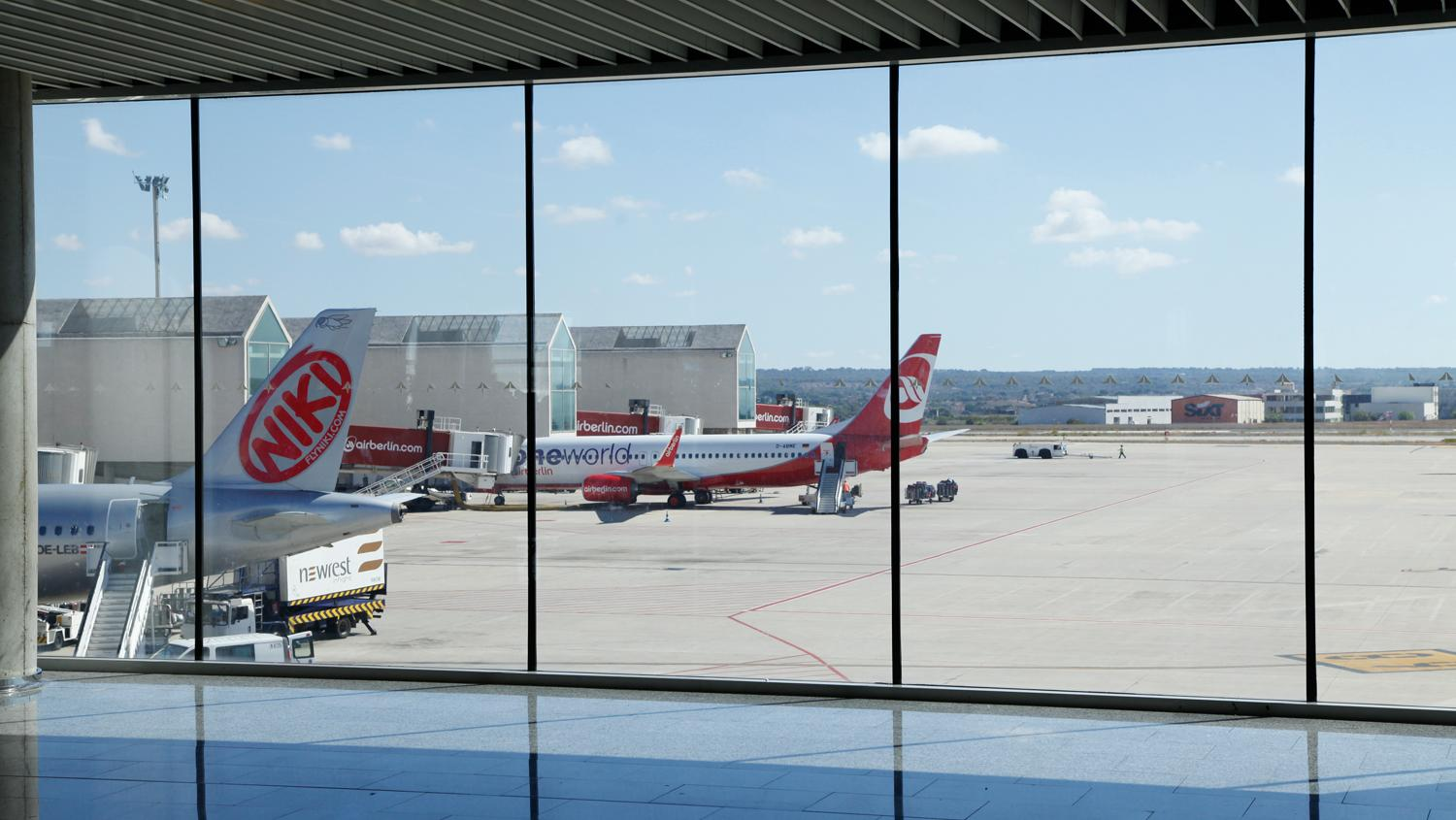 Niki is market leader at Palma airport after taking over Air Berlin's Mallorca flights.