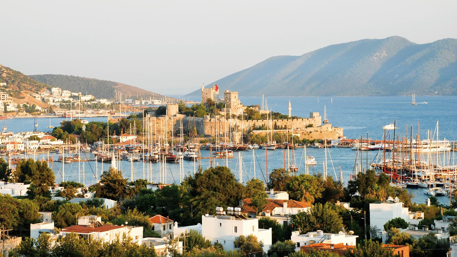 Trendy. Öger Tours has a 20% rise in Bodrum bookings this year.
