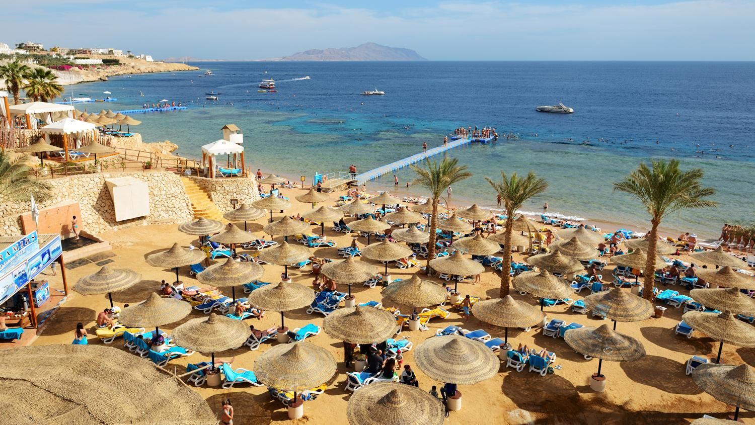 Germans are returning to Egypt, including Sharm El-Sheikh (pictured).