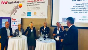 German tour operators discussed Greece tourism trends and issues at the fvw event on Rhodes.