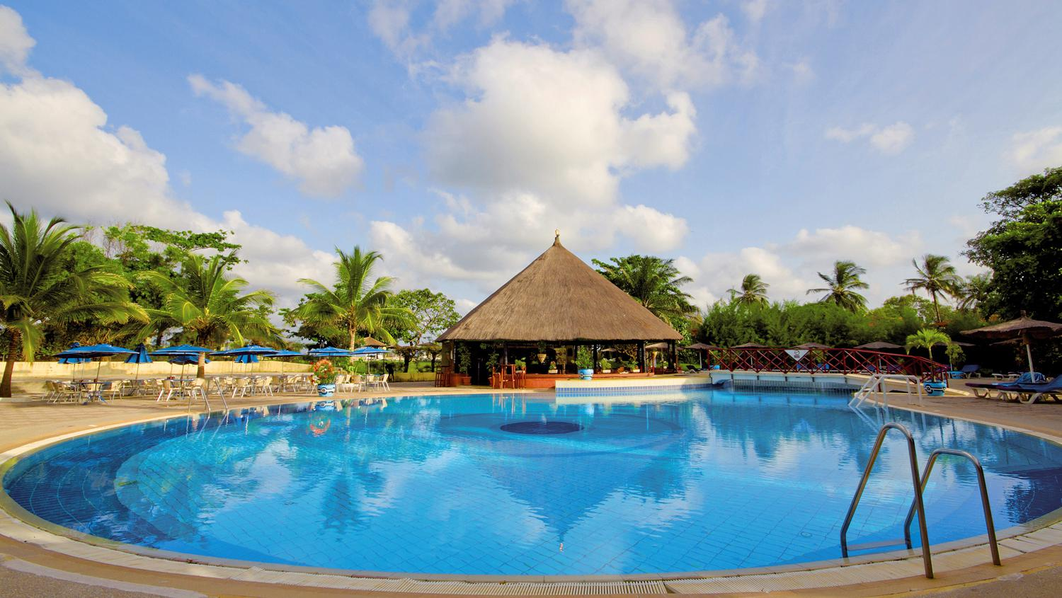 The Kairaba Beach Hotel is one of FTI's new hotels in Gambia.