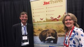 Stammgäste bei Messen wie dem Rendez-vous Canada: Jac-Travel-Canada-Chefin Gillian Beath und Sales & Marketing Manager Todd Williams.