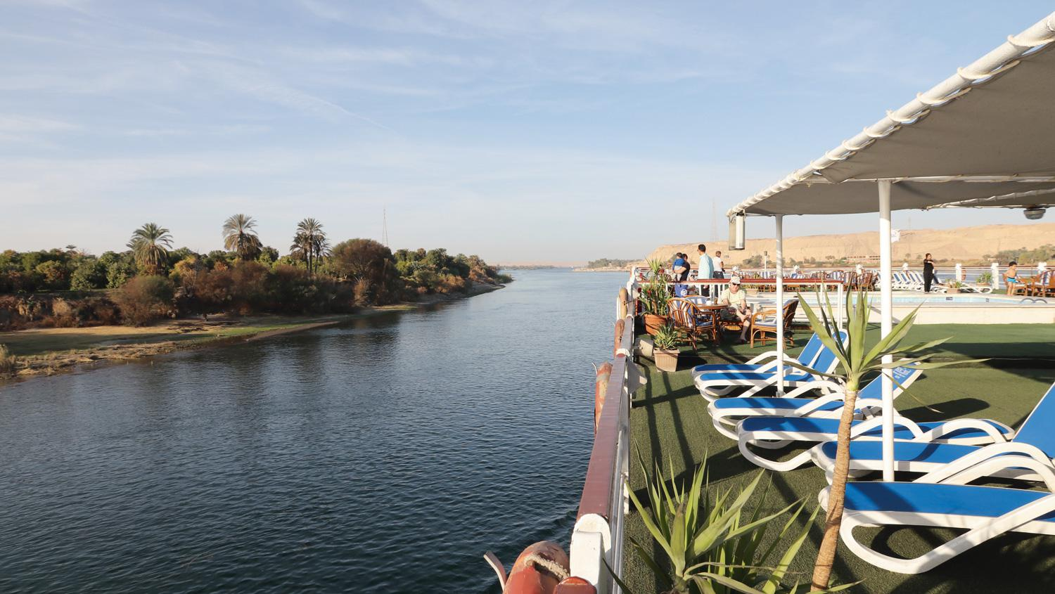 The Nile remains a top attraction for Egypt holidaymakers.