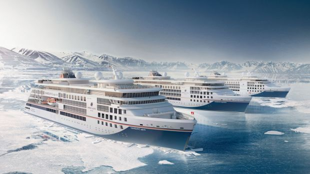 The two luxury expedition ships Hanseatic Nature and Hanseatic Inspiration will arrive in 2019.