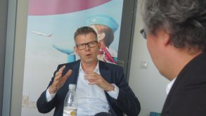Eurowings CEO Thorsten Dirks outlines his digital strategy to fvw.