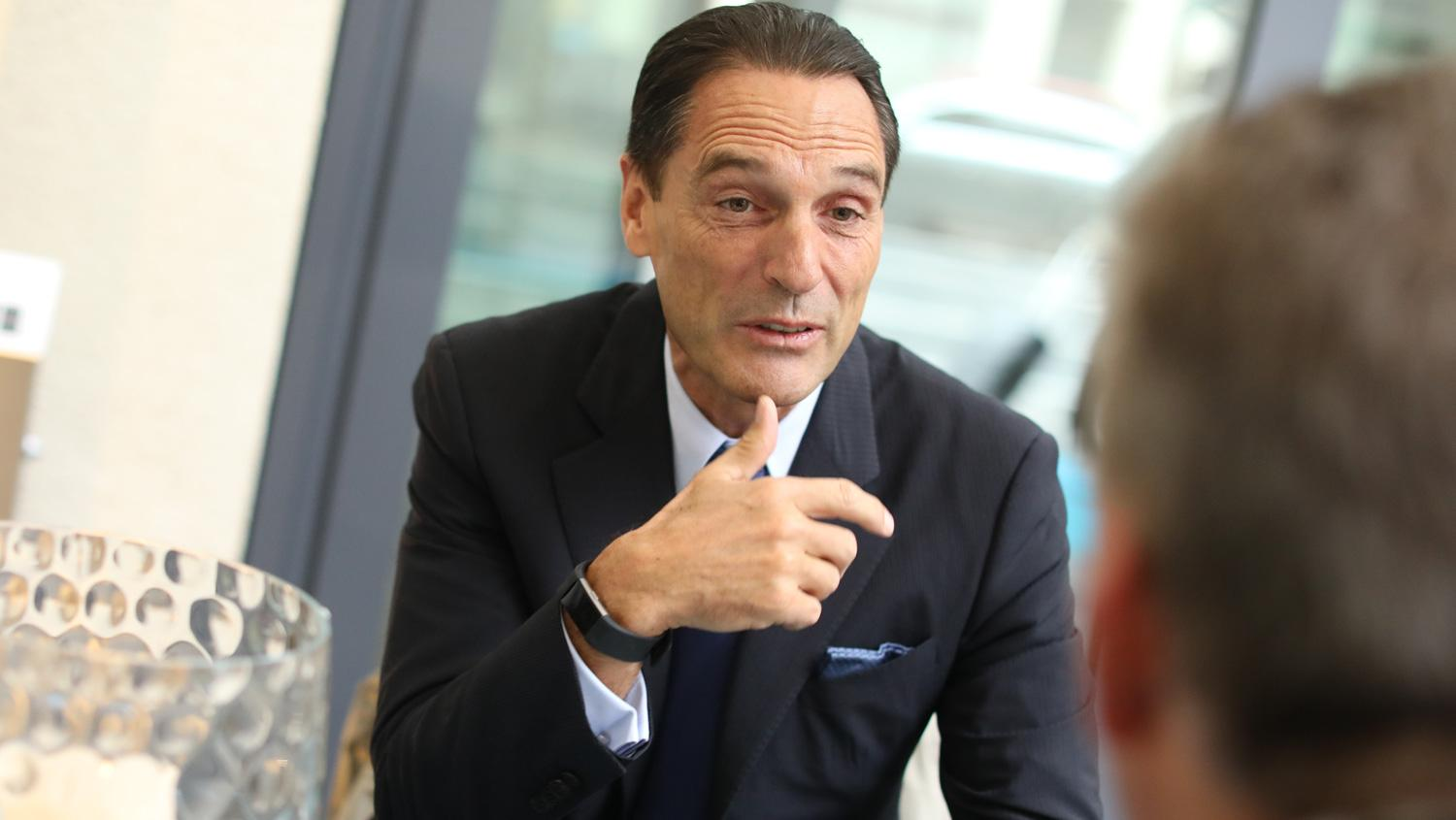 Thomas-Cook-CEO Peter Fankhauser