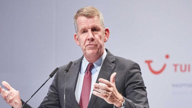 TUI CEO Fritz Joussen is facing headwinds.