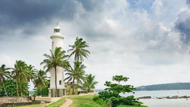 Galle fort is a popular tourist attraction on Sri Lanka.