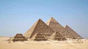 The pyramids are back in business as Germans flock to Egypt.