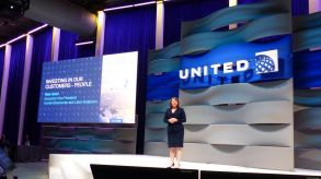 Kate Gebo leitet bei United Airlines in Chicago das Resort Personal.