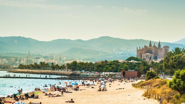 Majorca is one of the biggest package holiday destinations.