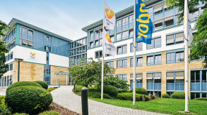 Thomas Cook Germany's head office in Oberursel, near Frankfurt