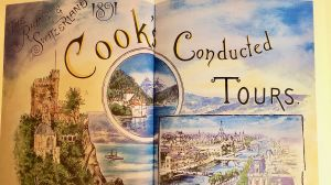 Thomas Cook historisches Plakat