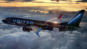 United Jet im Star Wars Livery