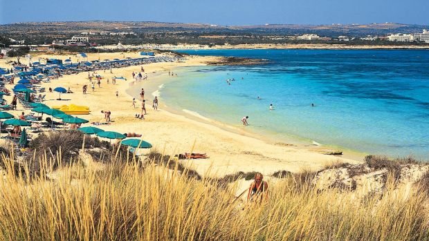 Germans will flock to Mediterranean beaches such as Ayia Napa on Cyprus again this summer.