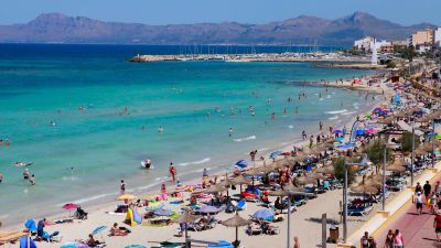 Majorca expects fewer German tourists this summer.