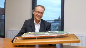 Arosa-CEO Jörg Eichler will mit dem E-Motion Ship die Flussreise revolutionieren.