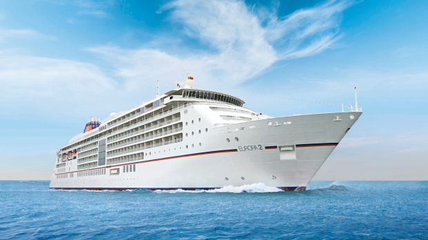 The Europa 2 is one of Hapag Lloyd Cruises' five-star plus luxury ships