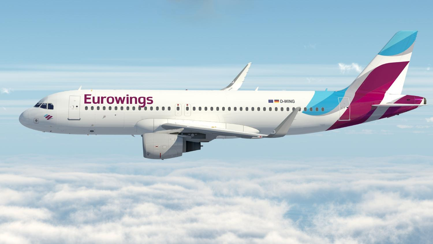 Eurowings flew 20,000 Germans home last week.
