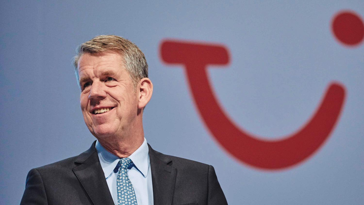 """We have successfully restarted our operations"": CEO Fritz Joussen remains positive about TUI Group's recent performance."
