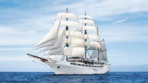 Sea Cloud II WIndrose