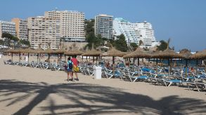 No more empty beaches: Magaluf and other destinations on Majorca are prepared for international guests.